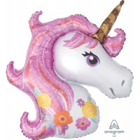 Mylar Balloon Magical Unicorn by Anagram
