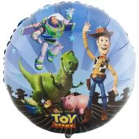 Ballon Mylar Histoire de Jouet - Woody, Buzz et Rex de Anagram