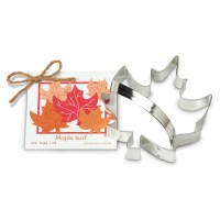 Cookie Cutter Maple Leaf with Handle by Ann Clarks Cookie Cutters Co.