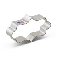 Cookie Cutter Long Fancy Plaque  by Ann Clarks Cookie Cutters Co.