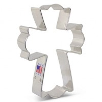Cookie Cutter Fancy Cross XL by Flour Box Bakery by Ann Clarks Cookie Cutters Co.