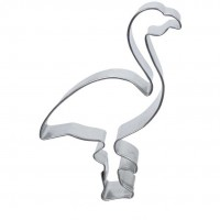Cookie Cutter Flamingo by H. O. Foose Tinsmitting