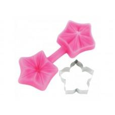 Découpoir et Moule Petunia de Blossom Sugar Art