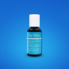 Liqua-Gel Food Coloring Sky Blue 20 g by ChefMaster