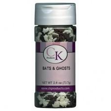 Confetti comestible Fantômes et Chauve-souris de Ck Products