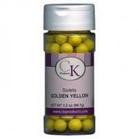 Perles de chocolat Choclets Sixlets de Ck Products – Jaune