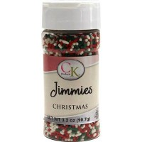 Vermicelles Jimmies de CK Products - Noël