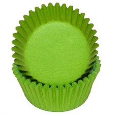 Mini Paper Baking Cups Lime Green by Ck Products