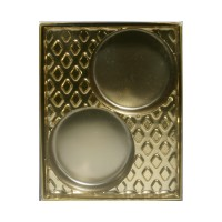Cookie Chocolate Gold 2 Cavity Insert Box by Ck Products