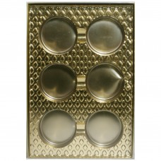Cookie Chocolate Gold 6 Cavity Insert Box by Ck Products