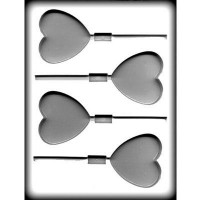 Hard Candy, Chocolate Sucker Mold Large Heart by Ck Products