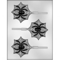 Hard Candy & Chocolate Mold Spider On Web by Ck Products