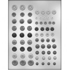 Chocolate Mold Button Assortment by Ck Products