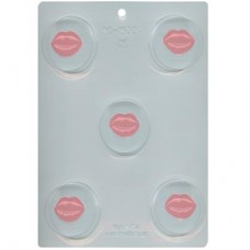 Sandwich Cookie Chocolate Mold - Lips by Ck Products