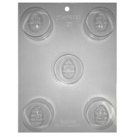 Sandwich Cookie Chocolate Mold - Easter Egg by Ck Products
