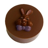 Sandwich Cookie Chocolate Mold - Bunny Face by Ck Products