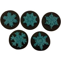 Sandwich Cookie Chocolate Mold - Snowflake by Ck Products