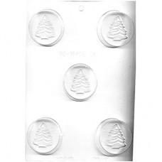 Sandwich Cookie Chocolate Mold - Christmas Tree by Ck Products