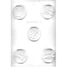 Sandwich Cookie Chocolate Mold - Dog Bone by Ck Products