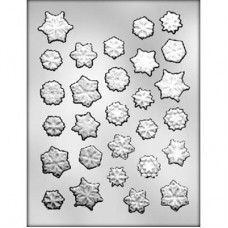 Chocolate Mold Assorted Snowflakes by Ck Products