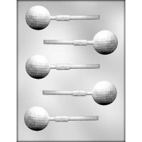 Sucker Chocolate Mold Golf Ball by Ck Products