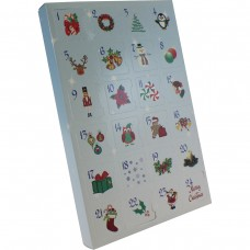 Advent Calendar Bleu with Insert