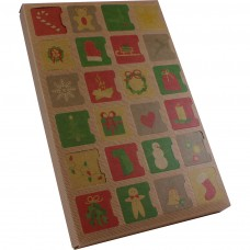 Advent Calendar Kraft with Insert