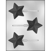 Sucker Chocolate Mold Star by Ck Products