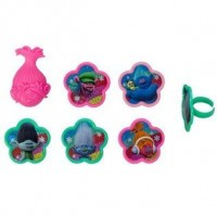 Barbie Trolls - Poppy Cupcake Rings Decoring by Decopac