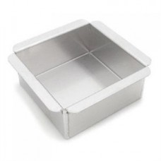 Square Cake Pan 10'' x 10'' x 2'' High by Magic Lines