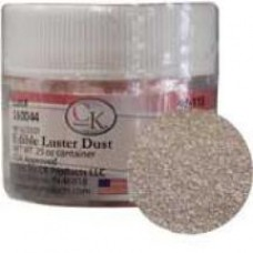 Edible Luster Dust Shiny Silver de CK Products