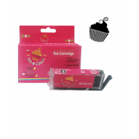 Canon Edible Ink Cartridge CLI281 Black by Ink4Cakes