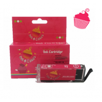 Canon Edible Ink Cartridge CLI281 Magenta by Ink4Cakes
