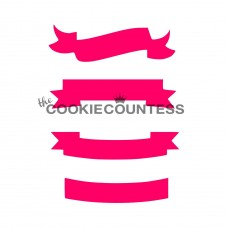 Pochoir Bannières de The Cookie Countess