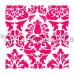 Stencil Lovely Damask by The Cookie Countess