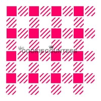 Stencil Buffato Plaid by The Cookie Countess