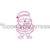 Stencil Santa Paint Your Own by The Cookie Countess
