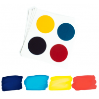 Edible PYO Paint Palettes - National Day (12 units) by The Cookie Countess