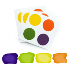 Edible PYO Paint Palettes - Halloween Colors (12 units) by The Cookie Countess