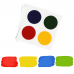 Edible PYO Paint Palettes - Primary Colors (12 units) by The Cookie Countess