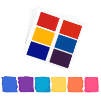 Edible PYO Paint Palettes - Bright Colors (12 units) by The Cookie Countess