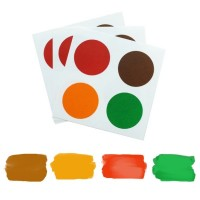 Edible PYO Paint Palettes - Christmas Colors (12 units) by The Cookie Countess