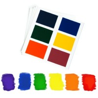 Edible PYO Paint Palettes - Rainbow Colors (12 units) by The Cookie Countess