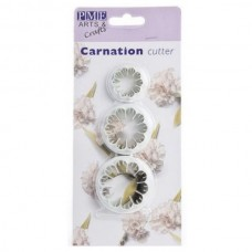 Carnation Cutter set of 3 by PME