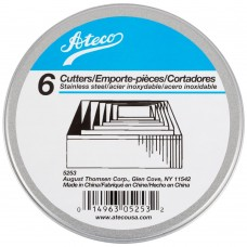 Ateco's Cutters kit stainless steel - Square