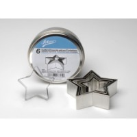 Ateco's Cutters kit stainless steel - Star