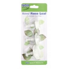 Emporte-pièce poussoir, ensemble de 3 - Feuilles de Roses