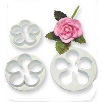 Peony Plunger cutter - Set of 3 by PME