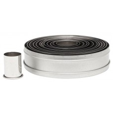 Ateco's Cutters kit stainless steel - Round