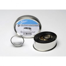 Ateco's Cutters kit stainless steel - Oval